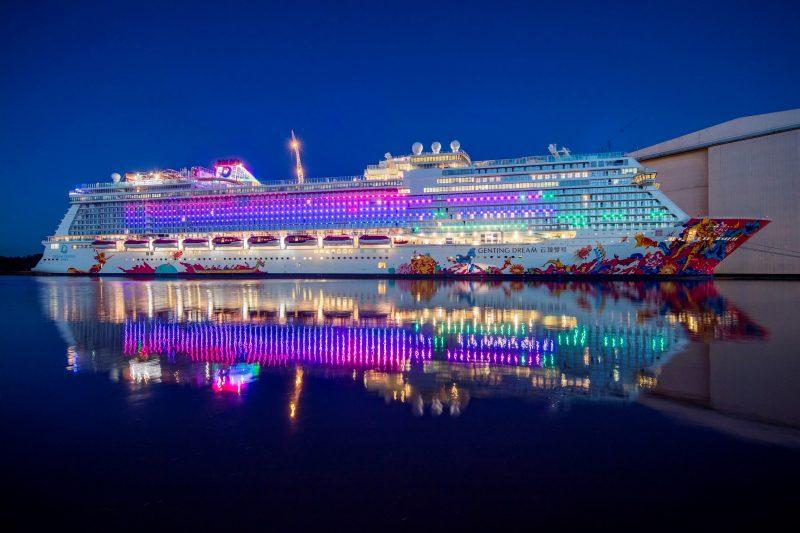 Genting Dream Set To Light Up Asia S Skylines Tourism