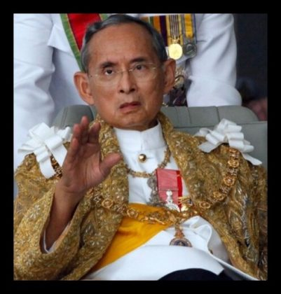 Our beloved king is dead! The Thai nation in shock
