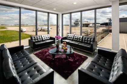 Marshall Aviation Services showcases its Birmingham Airport FBO