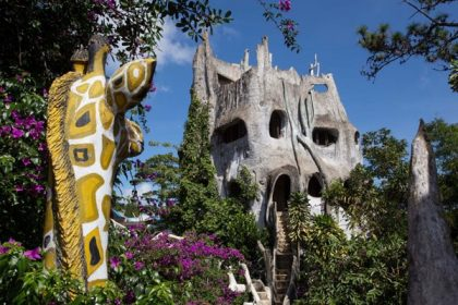 Surreal attraction in Vietnam: Da Lat Crazy House