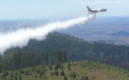 Global SuperTanker's Spirit of John Muir mobilized to fight Israeli wildfires