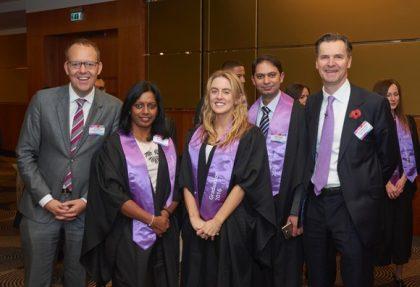 Heathrow Academy apprentices celebrate their graduation