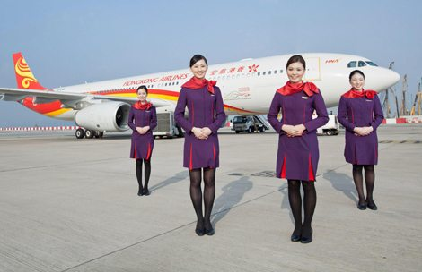 Hong Kong Airlines soars to Vancouver International Airport in 2017