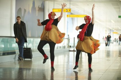 """Thanksgiving rush: Airports most likely to experience """"Terminal Madness"""""""