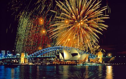 Sydney New Year's Eve magic  attracting visitors from across the country and the globe