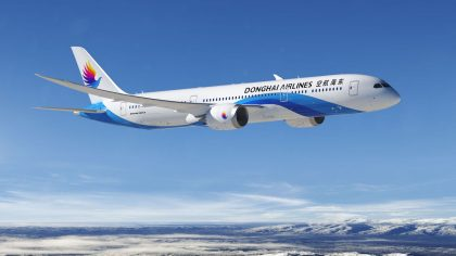 Donghai Airlines finalizes order for five Boeing 787-9 Dreamliners