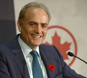 Air Canada's chief named 2016 Outstanding CEO of the Year