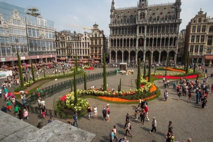 Flowertime 2017: Splendid floral event in the heart of Brussels