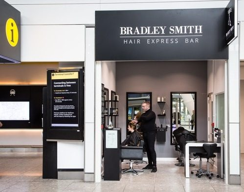 Landing at Heathrow: Britain's first arrivals blow dry bar
