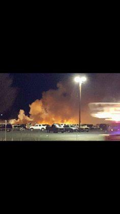 Plane crash turns Elko, Nevada into a disaster zone