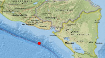Central America state of emergency: Hurricane Otto & 7.0 earthquake