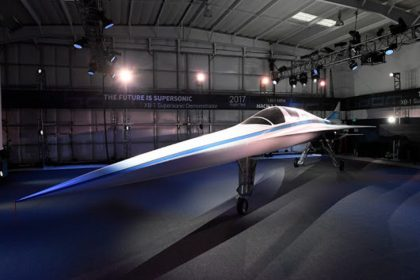 Supersonic jet faster than the Concorde gets its public debut