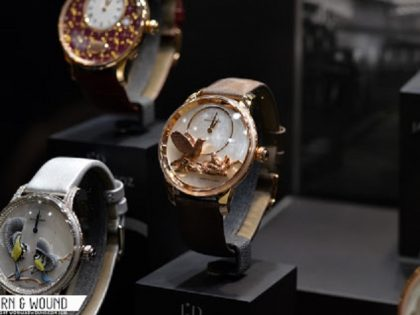 The coolest (and weirdest) watches from this year's Salon QP