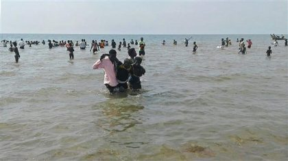30 dead after overloaded boat capsized on Lake Albert in Uganda