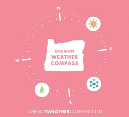 "Travel Oregon launches innovative ""Oregon Weather Compass"""