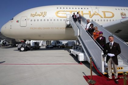 Etihad Airways named Best Airline in the World for International Travel