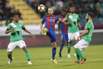 FC Barcelona beats Al-Ahli Saudi FC, wins Qatar Airways Cup trophy