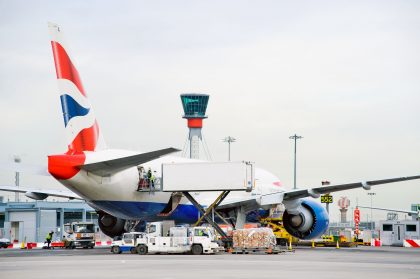 Forget sleighs and reindeer – Heathrow's got your Christmas cargo covered