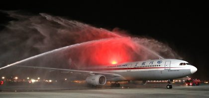 Dubai Airports welcomes Sichuan Airlines' first direct flight from Chengdu