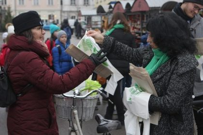 European Green Capital 2016 launches campaign against plastic bags