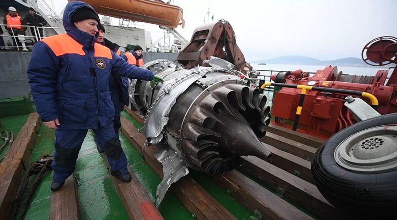 Russian officials: No explosion on board the ill-fated Tu-154
