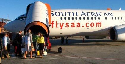South African Airways warns on Christmas holiday problems with traveling kids