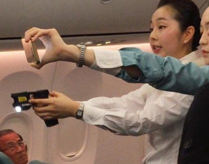 Korean Air allows crew to use Tasers to subdue violent passengers