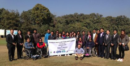 Nepal Tourism did it again: Inclusive with a difference !