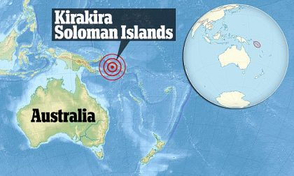 Earthquakes and Tsunami watches from Solomon Islands to California