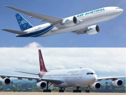 Joint flight between Air Austral and Air Madagascar opens up China for both islands