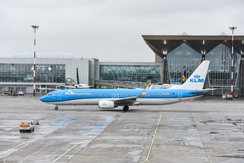 Saint Petersburg and Amsterdam: KLM increase