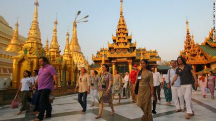 Myanmar Tourism predicts huge increase with new visa exemption