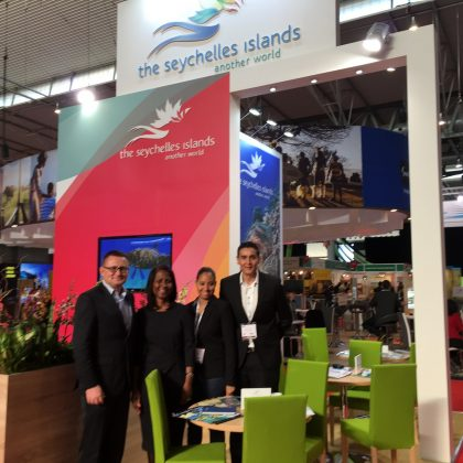 Seychelles Tourism present at 29th edition of ibtm MICE trade fair in Barcelona
