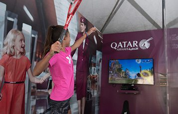 Qatar Airways celebrates ExxonMobil Open Men's Tennis 2017 tournament