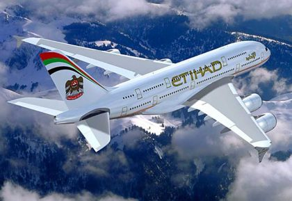 Etihad only Gulf carrier in world's top 20 safest airlines