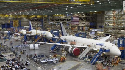 Boeing achieves strong delivery numbers in 2016
