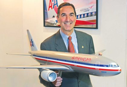American Airlines' Senior Vice President to retire after 38 years with the carrier