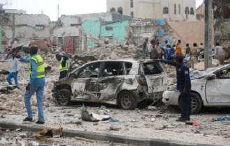 Dozens killed in Mogadishu hotel attack