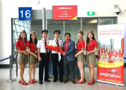 Vietjet expands its Taiwan network