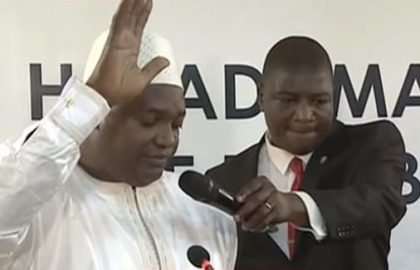 Gambia's new president takes oath, democracy and tourism win