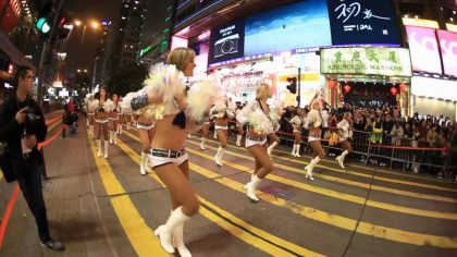 Hong Kong Chinese New Year Parade kicks off Year of the Rooster with largest celebration in event history
