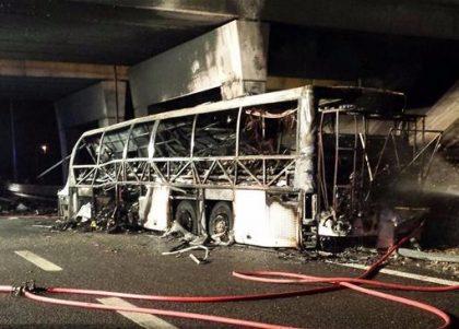 Sixteen people killed, two dozen injured in Italian bus crash