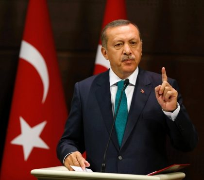 "Erdogan: ""Terrorists"" behind Turkish lira plunge"