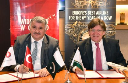 Pakistan International Airlines and Turkish Airlines expanded codeshare agreement
