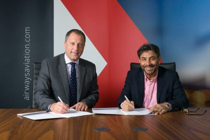 Airways Aviation and Emirates Aviation Services partnership
