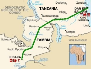Struggling TAZARA Zambian Tracks  hit by strike