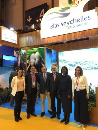 Seychelles Tourism presents at FITUR, the international tourism trade fair in the Spanish capital of Madrid