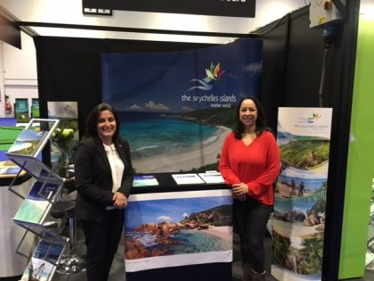 Seychelles Tourism Board office in London starts 2017 with Telegraph Show