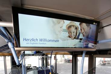 Surf After Landing: Free Wi-Fi and Information Monitors Now Available on Apron Buses at FRA