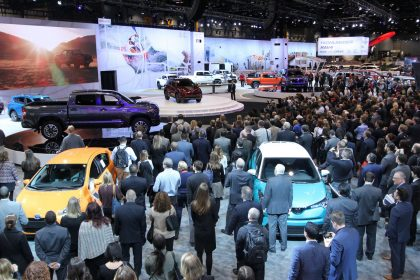 The 2017 Chicago Auto Show ready to open its doors